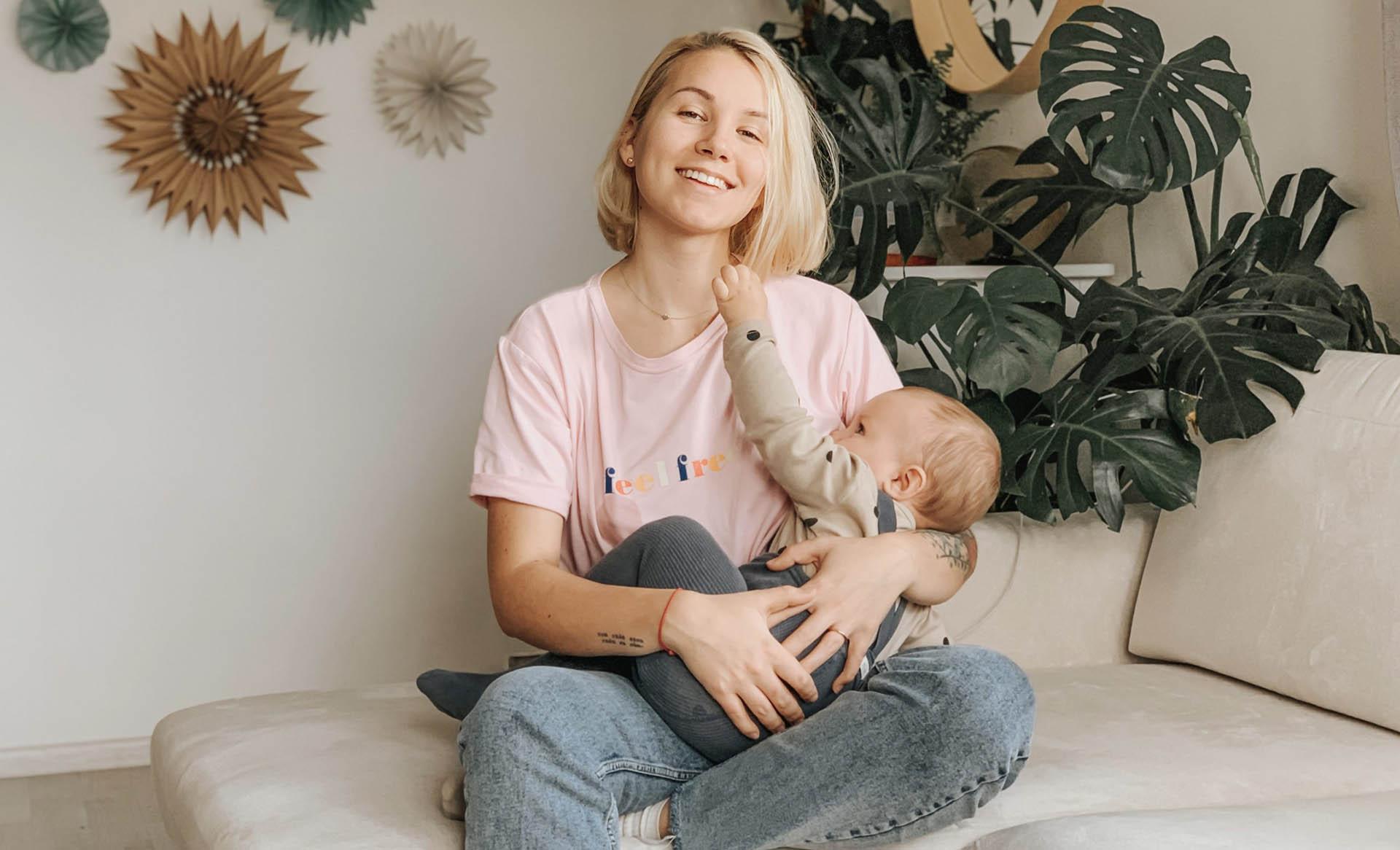 oblečenie na dojčenie